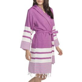 BATHROBE TUBA  / 54782  L.PURPLE