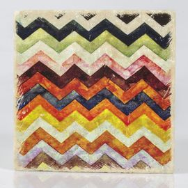 COASTER TRAVERTINE TILE - ZIGZAG