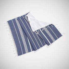 ANI - MINI DOUBLE FACE TOWEL / ROYAL BLUE