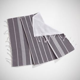 ANI - MINI DOUBLE FACE TOWEL / DARK GREY