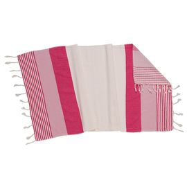 MINI TOWEL / PESHKIR KREM SULTAN 3C - FUSCHIA - DRY ROSE